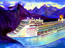 Kreuzfahrtschiff von Irina Usova
