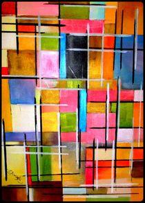 Abstrakte Malerei 2 von Eva Borowski
