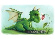 Fairy Gossip - Drache & Fee von Alexandra Knickel