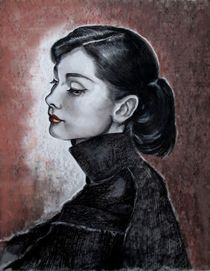 Audrey Hepburn by Marion Hallbauer