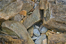 Peaks Island Pebble Pocket by Peter J. Sucy