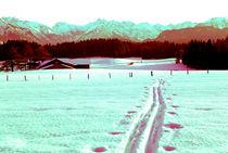 Skitour Allgäu von topas images