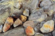 Rocks in Steam Vent Kiluea von Peter J. Sucy