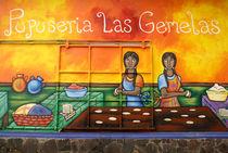 ATACO PUPUSA MURAL El Salvador von John Mitchell