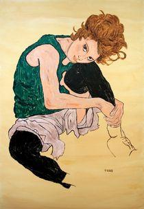 Hommage an Egon Schiele von Petra Koob