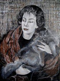 Leonor Fini by Marion Hallbauer