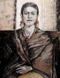 Frida Kahlo von Marion Hallbauer