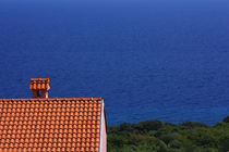 A lonely house in the Mediterranean. von Gordan Bakovic