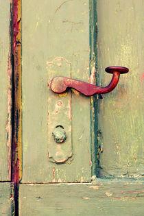 An old door handle. von Gordan Bakovic