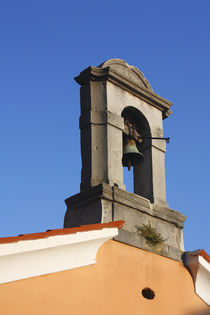 The bell tower of the church. von Gordan Bakovic