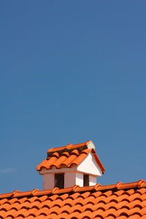 A chimney on the roof. von Gordan Bakovic