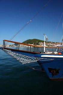 A prow of the sailship. by Gordan Bakovic