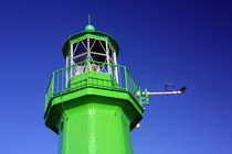 A top of the green lighthouse. by Gordan Bakovic