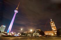 Berlin Fernsehturm  von topas images