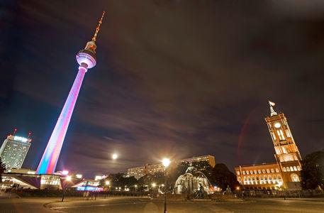 Berlin-alexanderplatz-night