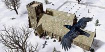 Churchyard Ravens von Peter J. Sucy