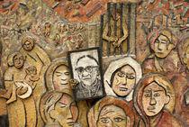 MEMORY AND TRUTH MURAL El Salvador  von John Mitchell