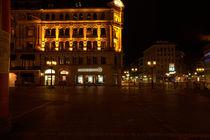 Blick vom Opernplatz by Detlef Koethner