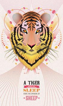 Tiger von Faraz Ghori