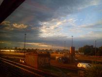 Blick aus dem Zug von jefroh