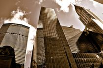 CHRYSLER BUILDING AND GROPIUS BUILDING IN NY. by Maks Erlikh