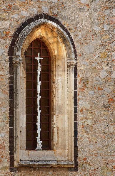 Crucifixion-window