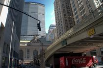 CORNER OF NY NEARBY GRAND CENTRAL TEMINAL by Maks Erlikh
