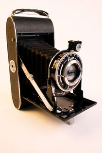 Vintage Camera by Diane Langenstrass