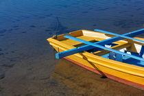 The yellow fishing boat detail. von Gordan Bakovic