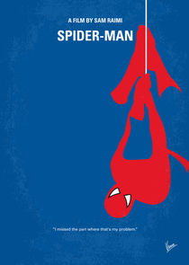 No201 My Spiderman minimal movie poster von chungkong