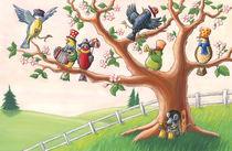Alle Vögel sind schon da by Axel Dissmann