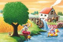 Es klappert die Mühle am rauschenden Bach von Axel Dissmann