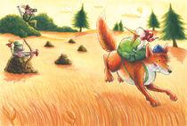 Fuchs, du hast die Gans gestohlen von Axel Dissmann