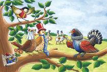 Vogelhochzeit von Axel Dissmann