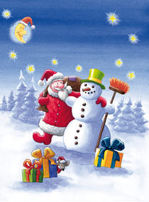 Der Weihnachtsmann + der Schneemann by Axel Dissmann