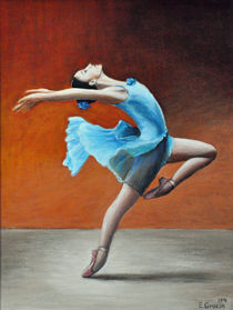 Ballet Tänzern II by Edith Gracin