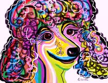 Picture Perfect Poodle by eloiseart