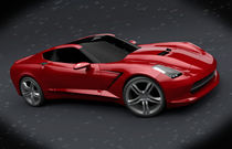 Chevrolet Stingray c7 2013 redesign von Nikola Novak