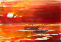 Zwei Boote von Irina Usova