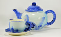 Teapot And Cup von Diane Bell