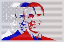 Barack Obama by Hans Levendig