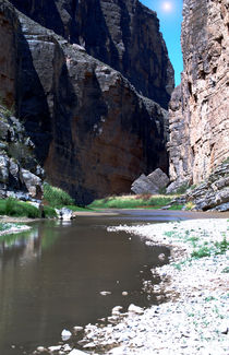 Santa Elena Canyon by Judy Hall-Folde