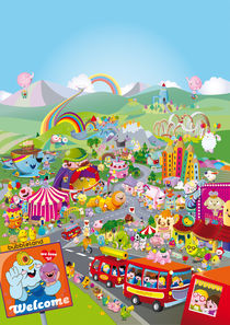 Welcome to Bubbleland von bubblefriends *