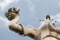 Imperia in Konstanz-rechter Arm by Erhard Hess