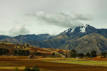 Peruan landscape by Justine Høgh
