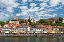 Meersburger Seepromenade + Burg & Schloss von Erhard Hess