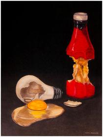 Ketchup and eggs von Ken Howard