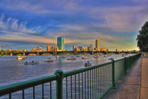 Evening on the Charles - Boston Massachusetts von Joann  Vitali