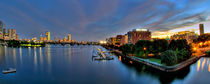 Boston Nights - Panoramics by Joann  Vitali