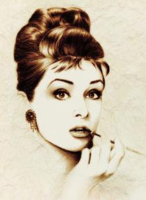 Audrey Hepburn von Zeana Romanovna